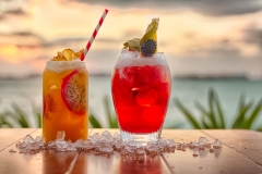 Cocktails at Sunset - Food Photography