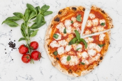 Margherita Pizza - Food Photography