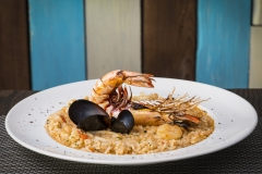 Seafood Risotto - Food Photography