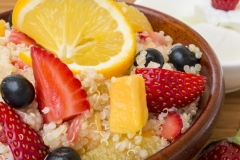 Quinoa Salad with Fruits - Food Photography