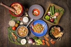 Thai Seafood Platter - Food Photography