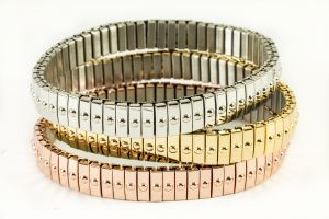Metallic Bracelets women accessories