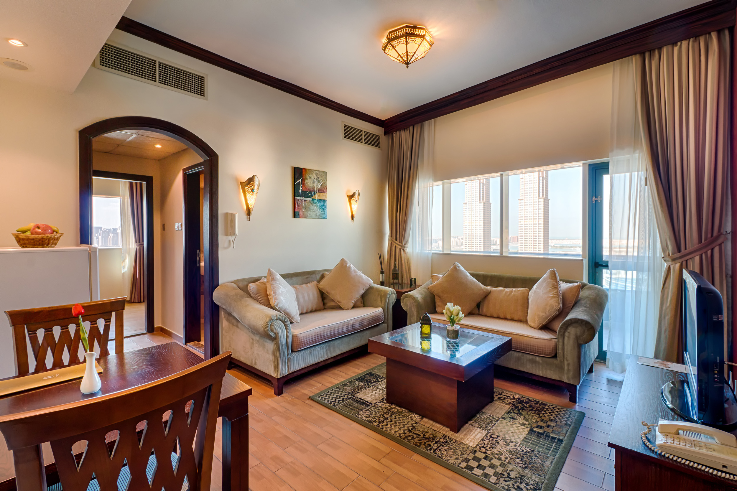 Hotel Room - Dubai UAE - Interiors \u0026 Architecture & Interiors \u0026 Architecture | Navin Khianey Photography